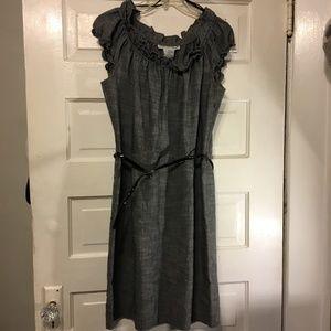 Madison Leigh Sz 12 Dress Peasant Collar & Sleeves